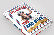 Ted, White & Blue